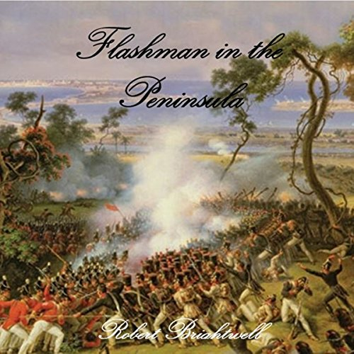 Flashman in the Peninsula audiobook cover art