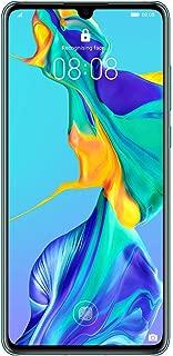 Huawei P30 Smartphone, 128 GB 6.1 Inch OLED Display Smartphone with Leica Triple Camera, 6GB RAM, EMUI 9.1.0 Sim-Free Android Mobile Phone, Aurora