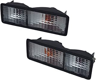 LAND ROVER DISCOVERY 1 1989-1999 REAR BUMPER CLEAR LIGHTS SET PARTS# AMR6509W & AMR6510W
