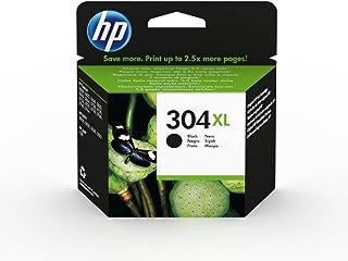 HP 304XL N9K08AE, Negro, Cartucho de Tinta de Alta Capacidad Original, compatible con impresoras de inyección de tinta HP ...