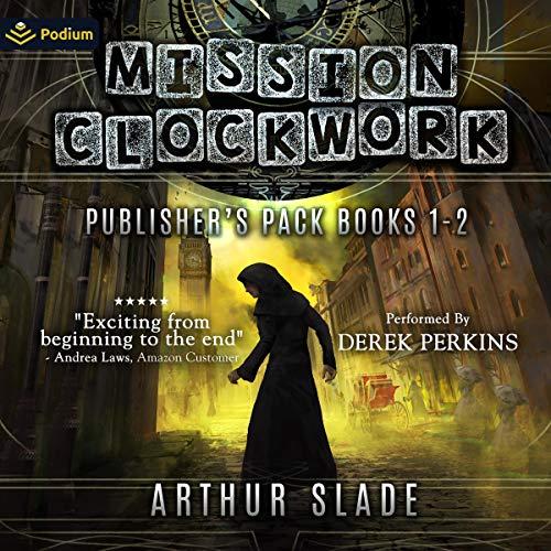 Mission Clockwork: Publisher's Pack Audiobook By Arthur Slade cover art