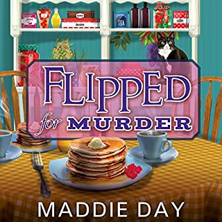 Flipped for Murder audiobook cover art