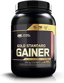 Optimum Nutrition Gold Standard Gainer, Fresa- 1624 g