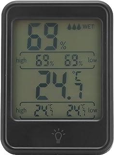 Thermomètre d'ambiance, hygromètre numérique professionnel -20℃-70℃ rétro-éclairage haute précision pratique pour les lieu...