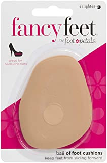 Foot Petals Fancy Feet Ball-of-Foot Cushions - Cushioned Ball of Foot Inserts for High Heels and Other Uncomfortable Shoes