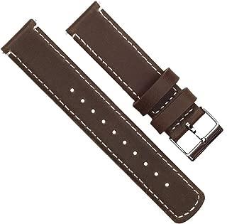 thin leather nato strap