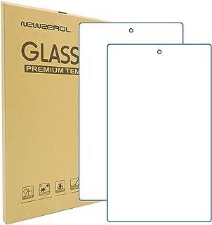 【2枚セット】Newzerol For Fire HD 8 2017 / 2018 タブレット 強化ガラスフィルム (2018 Newモデル) 専用版 30日間交換保証【8インチ用・視力保護・透過率99%・硬度9H・飛散防止】