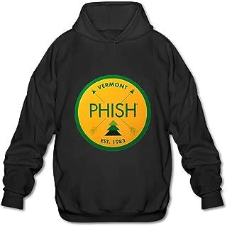 Alternative Rock Phish Tour 2016 Logo Design Mens Hooded Sweatshirt
