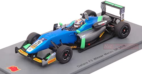Spark Model S43MF16 DALLARA F3 N.29 Macau GP 2016 Antonio Felix DA Costa 1 43 kompatibel mit