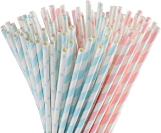 color changing straws gender reveal