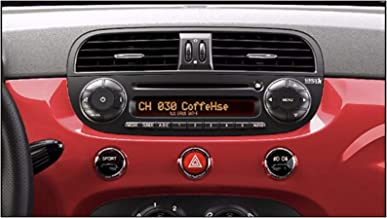 Best fiat 500 radio buttons Reviews