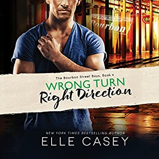 Wrong Turn, Right Direction     The Bourbon Street Boys, Book 4              Written by:                                                                                                                                 Elle Casey                               Narrated by:                                                                                                                                 Tracie Christian                      Length: 10 hrs and 30 mins     Not rated yet     Overall 0.0