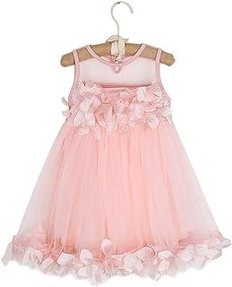 0-18 Meses Vestido de Fiesta para beb/é 3 Colores con Flores dise/ño de Princesa Verano Happy Cherry