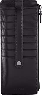 Lodis womens 242AULK Audrey Rfid Credit Card Case With Zipper Pocket