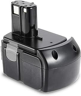 ARyee 18V 4000mAh/4.0Ah EBM1830 Replacement Battery for Hitachi BCL1840 BCL1815, BCL1830, 327730, 327731, 326240, 326241,Hitachi Cordless Power Tool Battery (1, Hitachi BCL1840 18V 4000mAh)