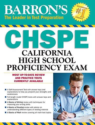 CHSPE: California High School Proficiency Exam (Barron's Test Prep CA)