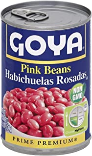 Goya Premium Pink Beans 15.5 oz (Pack of 12)