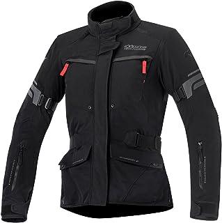 Alpinestars Chaquetas de moto Stella Valparaiso 2 Drystar Jacket Negro Gris Rojo