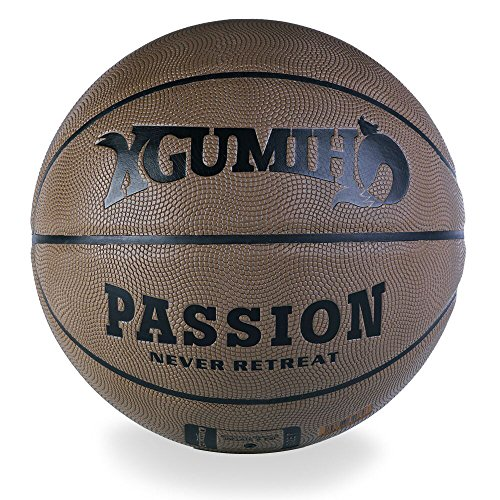 Review SPANBANG XGUMIHO Basketball Outdoor/Indoor PU Leather Mens Adults Training Games Professional...