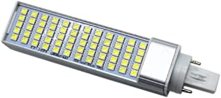 LLP-LED G24 LED Corn Light Bulb Dimmable 5050AMD 60LED 10W Cool White Warm White LED Corn Light Horizontal Plug Light (AC 85-265V) (Color : Warm White)