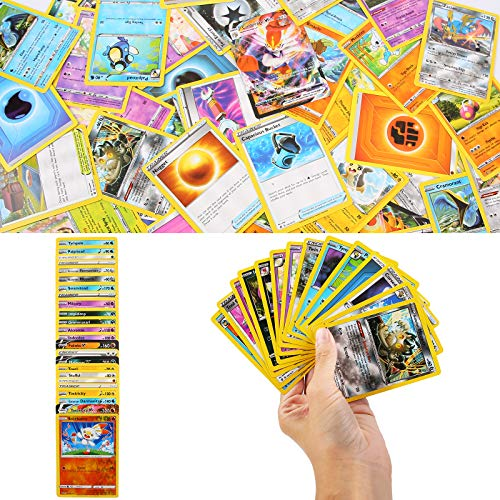 YNK 324pcs Carte de jeu, Cartes Trading Cards GX EX MEGR Flash Cards, Sword Shield Series, Carte à collectionner Jeux de Carte Cadeau pour Fête(D)