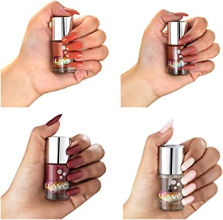 Clavo Nude Nail Polish Combo Pack (SET OF 4)