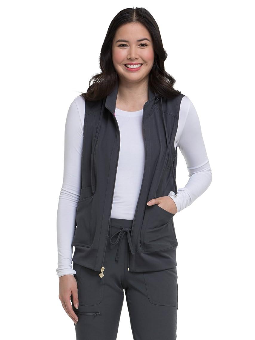 HeartSoul Break on Through HS500 Women's In-Vested Love Solid Scrub Vest