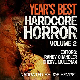 Year's Best Hardcore Horror: Volume 2 cover art