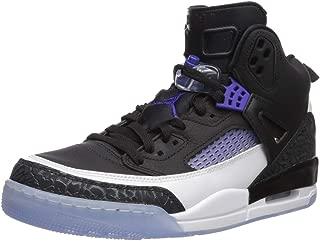 Jordan Men's Spizike Shoe, Black/Dark Concord-White,