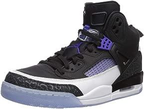 Nike Jordan Men's Spizike Shoe, Black/Dark Concord-White,