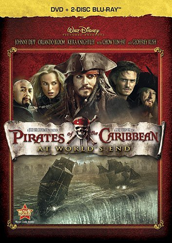 Pirates Of The Caribbean: At World's End (Three-Disc Blu-ray / DVD Combo in DVD Packaging) by Walt Disney Studios Home Entertainment
