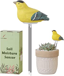 GardenBasix خاک رطوبت سنج آبیاری زنگ هشدار Chirping Bird Plant Water Tester رطوبت سنج سنسور باغ ابزار ابزار برای گیاهان آب