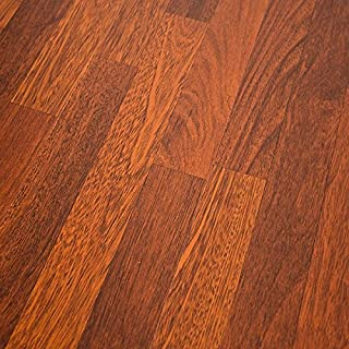 Quick-Step NatureTEC Home Sound Brazilian Cherry 7mm Laminate Flooring + 2mm Attached Pad SFS025 SAMPLE - coolthings.us