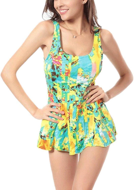 Jianheads Swimsuit Fashion Bikini piece Floral piece Skirt Large Size Hot Spring Swimwear Beach Swimwear Vacation Swimwear