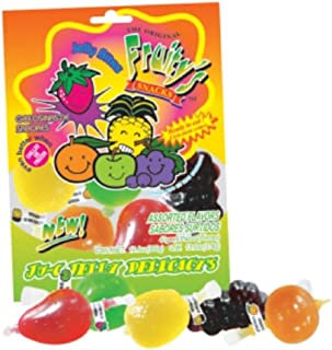 Fruity's Ju-C Jelly Delicacies Golosinas De Sabores Assorted Flavors