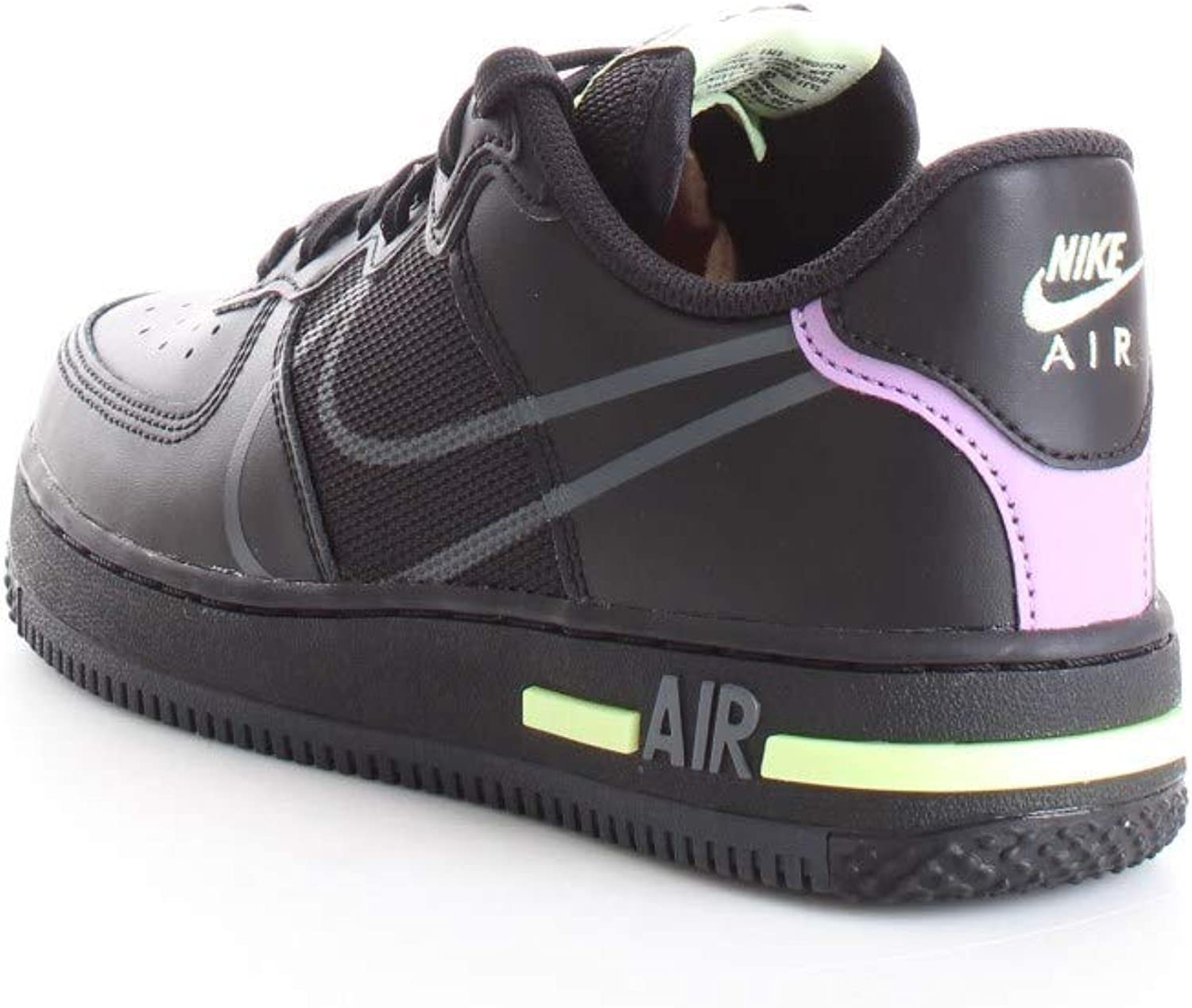 Buy Nike Kids Air Force 1 React GS Basketball Shoes (7) Online in ...