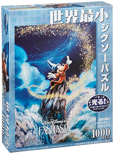 Tenyo Japan Jigsaw Puzzle Dw-1000-396 Disney Mickey Fantasia Dream (1000 Small Pieces) (japan import)