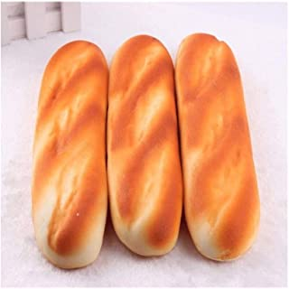 Play Food,28cm French Bread Kids Play Food, Simulation Pretend Play Food for Pretend Role Playing Christmas Gifts play Puz...