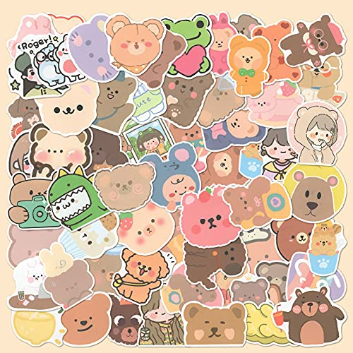 GUANG Corea del Sur Ins Bear Rabbit Stickers Equipaje Maleta Maleta Laptop Phone Case Stickers