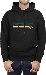 Dutch-Bros-Coffee-Logo- Sweatshirts for Mens's Soft Pullover Long Sleeve Tops