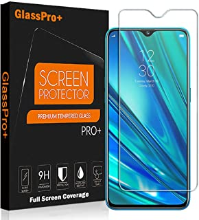 Glass Pro+ for Realme 5 Pro Scratch Resistant Tempered Glass LCD Screen Protector Film Guard (2 Pack)
