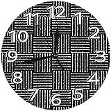 Grande Orologio da Parete Non Ticking Amazon Cyber lunedì Vendita 2019 Donna
