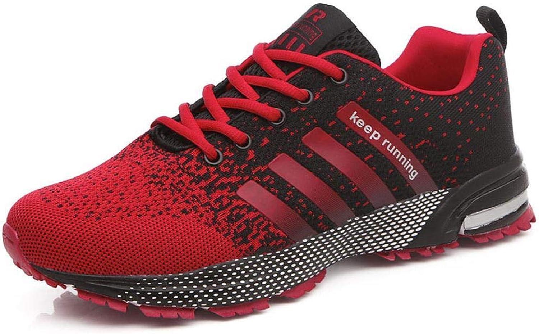 Mandii Men Women Fashion Breathable Mesh Athletic Sport Running shoes Triathlon