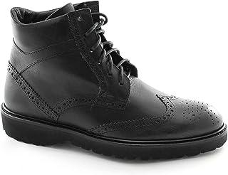 LION 11179 nero scarpe uomo stivaletto polacchino inglese 41