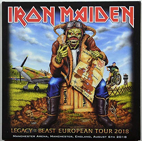 Iron Maiden LEGACY OF THE BEAST TOUR Manchester 2018 Live 2CD set in digisleeve [Audio CD]