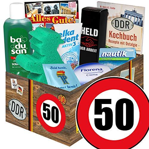 50. Geburtstag Geschenk Idee / Pflegeset / lustige geschenke zum 50. geburtstag