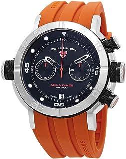 Swiss Legend Aqua Diver Chronograph Black Dial Watch SL-10622SM-01-BB-OAS