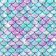 Vinyl Boutique Shop Craft Heat Transfer Mermaid Tail Patterns Vinyl Sheet Heat Transfer Vinyl HT-0168-2