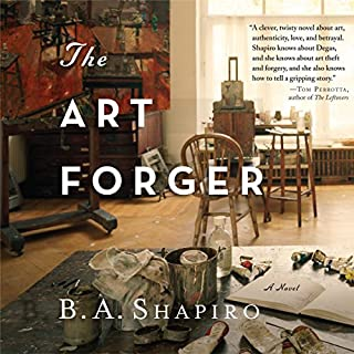 The Art Forger audiobook cover art