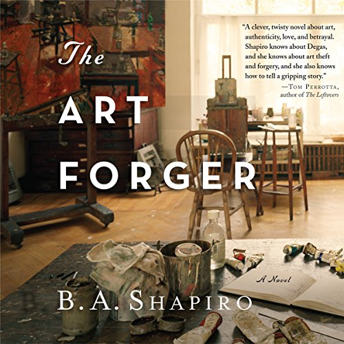 The Art Forger                   By:                                                                                                                                 B. A. Shapiro                               Narrated by:                                                                                                                                 Xe Sands                      Length: 10 hrs     3,081 ratings     Overall 4.1
